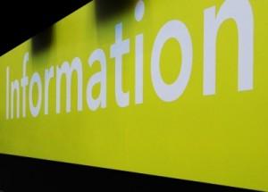 Information ist für Anleger existenznotwendig